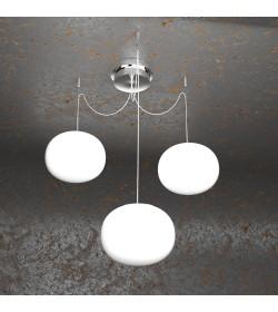 Sospensione 3 luci Soft 1092/S3 Top Light Ø18