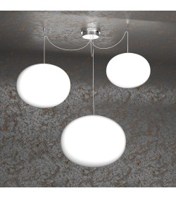 Sospensione 3 luci Soft 1092/S3-MIX Top Light