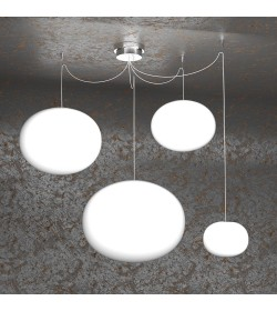 Sospensione 4 luci Soft 1092/S4-MIX Top Light