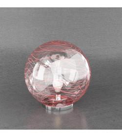 Lampada da tavolo Moon 1117/LT30-RO Top Light 30cm rosso