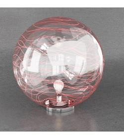 Lampada da tavolo Moon 1117/LT40-RO Top Light 40cm rosso
