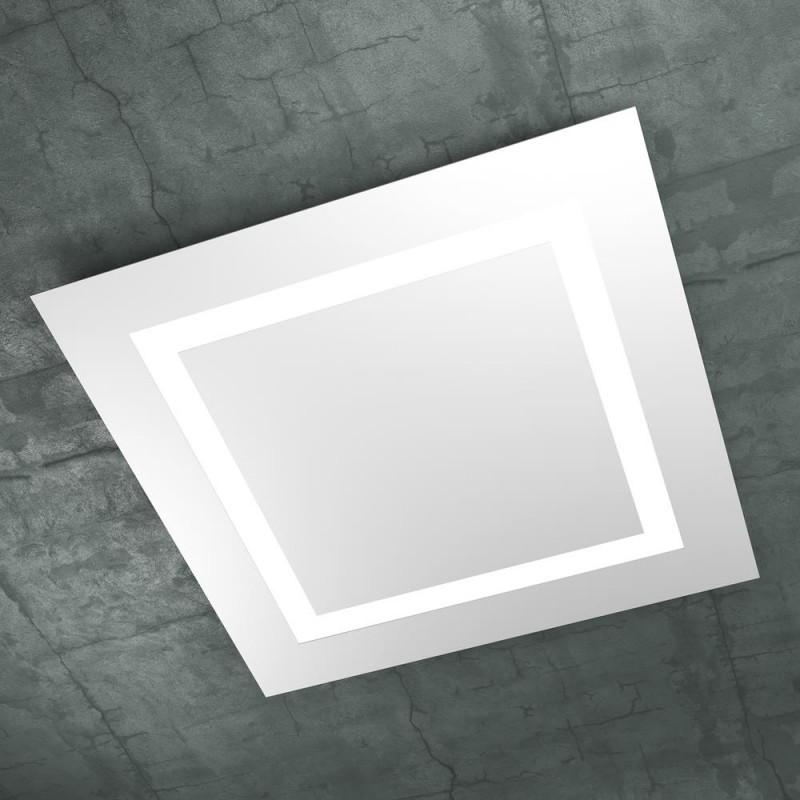 Plafoniera led 70 cm carpet bianco 1137 70 bi top light for Plafoniere a led