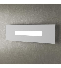 Applique 1 Led Wally Top Light 50 cm grigio