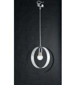 Sospensione 1 luce metallo laccato Bolla Bonetti BL114/1 vari colori