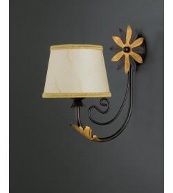 Applique 1 luce in ferro battuto Tosca Bonetti BL121/AP1