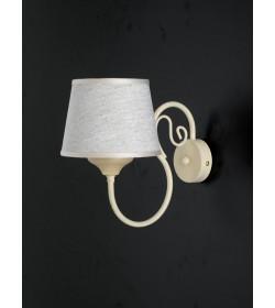 Applique in ferro battuto e legno Provenzale Bonetti BL117/AP1