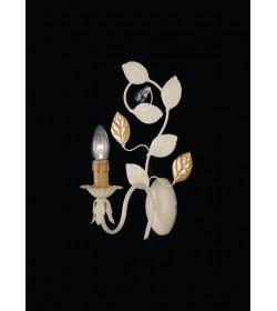 Applique 1 luce in ferro e strass Gardenia Bonetti BL111/AP1