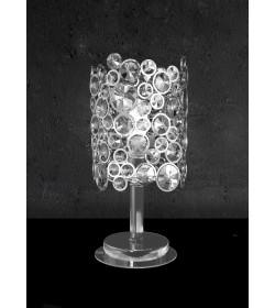 Lumetto in cristallo e vetro Damasco/4  3715 Contemporanea