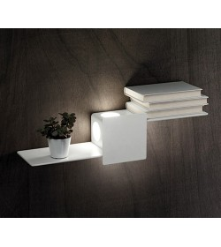 Applique Led mensola bianco Perenz 6406