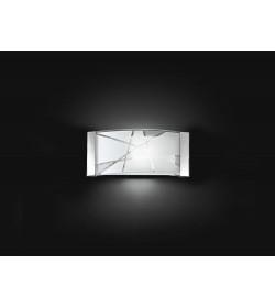 Applique con vetro decorato Ø33cm Perenz 5944
