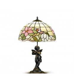 Lampada da tavolo Tiffany Perenz T616 B616