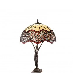Lampada da tavolo Tiffany Perenz T962 B606