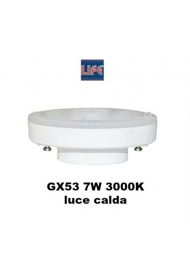 Lampadina Led gx53 Life 7W 3000K luce bianco calda