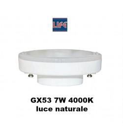 Lampadina Led gx53 Life 7W 4000K luce bianca naturale