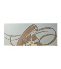 Capezzale moderno pannello in legno Madre SD Laser