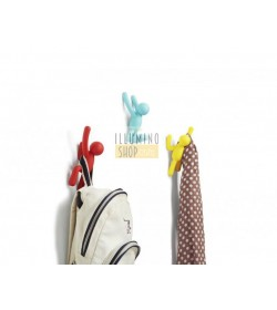 Set 3 ganci appenditutto Buddy multicolor Umbra