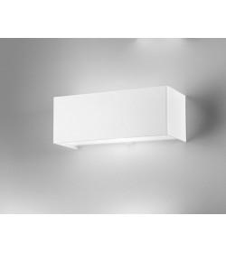 Applique Linear metal white 23x9 Antea Luce