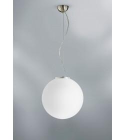 Sospensione sfera vetro Coccole Ø20 cm Antea Luce