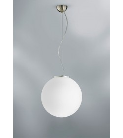 Sospensione sfera vetro Coccole Ø30 cm Antea Luce