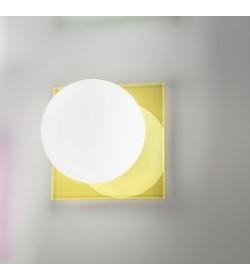 Applique plafoniera Coccole'n colors giallo Antea Luce