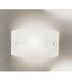 Applique plafoniera bianca Jenny 32x17 Antea Luce