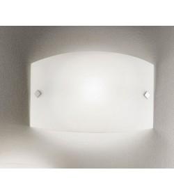 Applique plafoniera bianca Jenny 40x25 Antea Luce