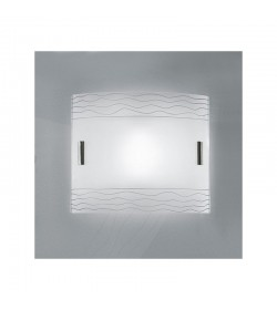 Applique moderna vetro Kloe Antea Luce