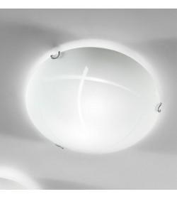 Applique plafoniera bianca Ø40 cm Segno Antea Luce