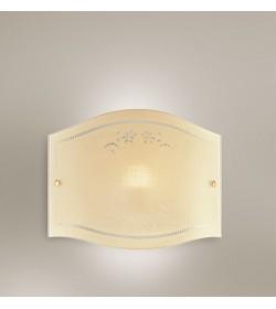 Applique vetro avorio 25cm Romantica Antea Luce