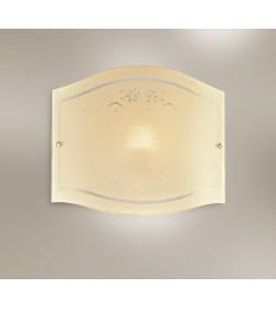 Applique vetro avorio 32cm Romantica Antea Luce
