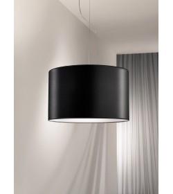 Sospensione Zuna nera Ø50 cm Antea Luce
