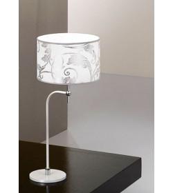 Lumetto Fashion bianco arabescato argento Antea Luce