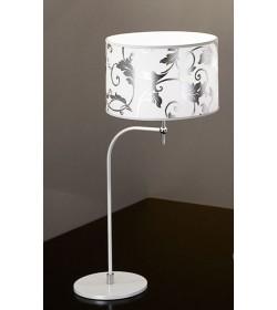 Lumetto Fashion Ø30 bianco arabescato argento Antea Luce
