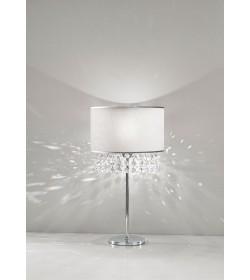Lumetto Camilla bianco con cristalli Antea Luce