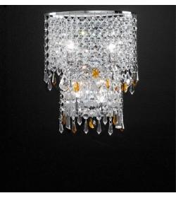 Applique cristallo Alyssa 30 cm Antea Luce