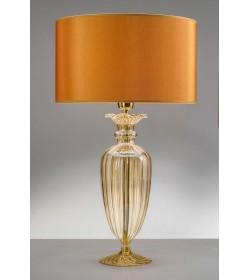 Lampada da tavolo Alyssa Gold Ø35 Antea Luce
