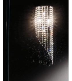 Applique Astrid Ø20 pendenti in cristallo Antea Luce