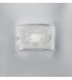 Applique Carolina 20x14 cristallo trasparente Antea Luce