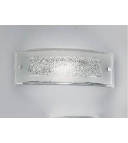 Applique Carolina 40x14 cristallo trasparente Antea Luce