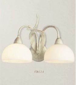 Applique 2 luci ferro battuto 1720/2A Via Dese Lam Export