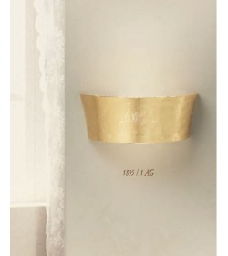 Applique classica vetro foglia oro 1895/1AG Via Dese Lam Export