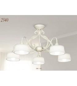 Plafoniera 3 luci in ferro 2340/3PL Via Dese Lam Export