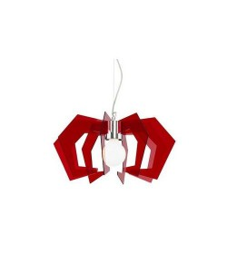 Sospensione Spider Rosso...