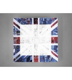 Plafoniera Union Jack 35x35...