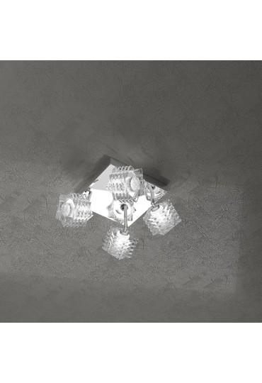 Plafoniera Rubik 4 luci 1126/PL4
