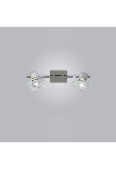 Faretto Square 2 luci 1031/F2