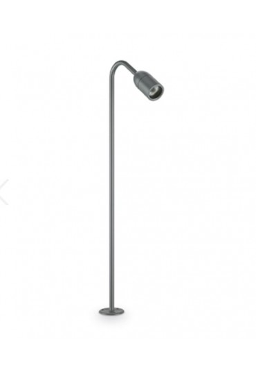 Piantana lampada da esterno Loop PT1 small antracite Ideal Lux