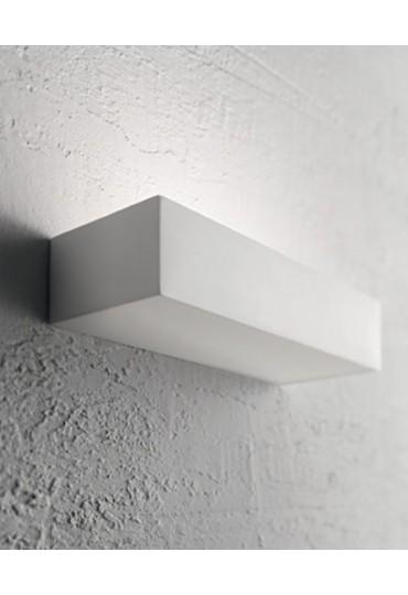 Applique in gesso rettangolare Matt AP1 Ideal Lux