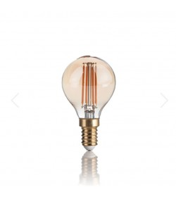 Lampadina E14 Vintage sfera...