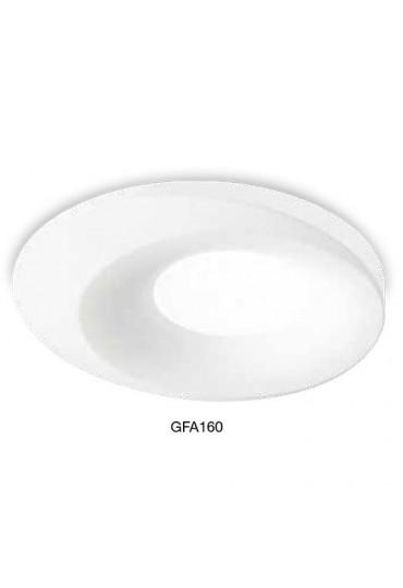 Faretto da incasso bianco opaco GFA160 Gea luce
